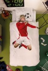 Snurk Bedding Snurk Soccer Champ red 140 x 200/220