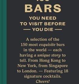 Lannoo Uitgeverij 150 bars you need to visit before you die