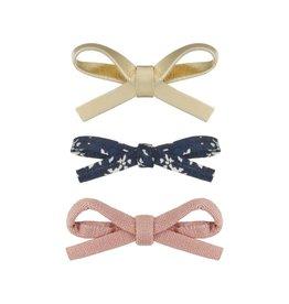 Mimi & Lula Mimi & Lulu Tabitha tied mini bow clips