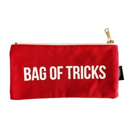 Studio Stationary Bag of tricks canvas bag 21 x 10 cm