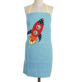 Ginger Happy in space kids apron