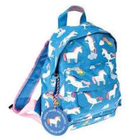 Rex London Colourful creatures backpack unicorn 21x28x10 cm