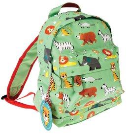 Rex London Colourful creatures backpack animal park 21x28x10 cm