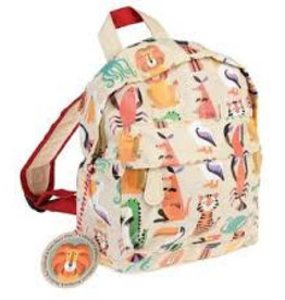 Rex London Colourful creatures backpack zoo 21x28x10 cm