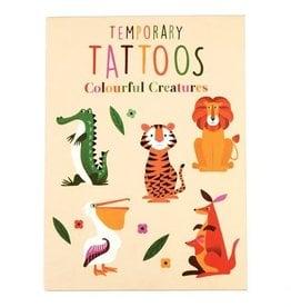 Rex London Tattoo set 18 pcs colourful creatures