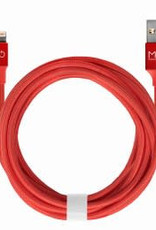 MOB Cable lightning reversible nylon corail 2M