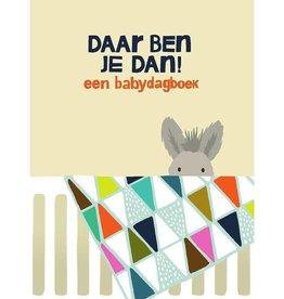 Lannoo Uitgeverij Daar ben je dan, een babydagboek