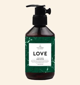 The Gift Label Hand lotion 250 ml. - love (green)