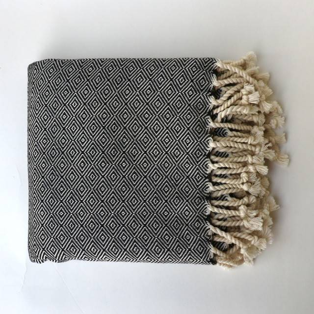 Bon Bini Bon Bini Nikiboko towel black