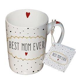 Paperproducts Design Mug 10.5x8 cm 'best mom ever'