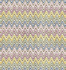 Paperproducts Design 20 napkins zig zag multicolore