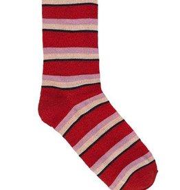 Becksondergaard Dina summer stripe - red love 37/39