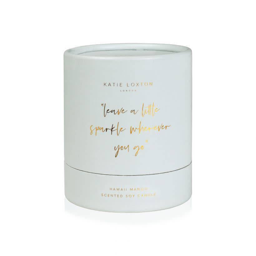 Katie Loxton Katie Loxton candle - Leave a little sparkle - hawaii mango - 160 gr.
