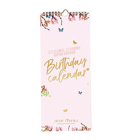 Enfant Terrible Enfant Terrible birthday calendar