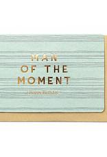 Enfant Terrible Enfant Terrible card + enveloppe 'man of the moment'