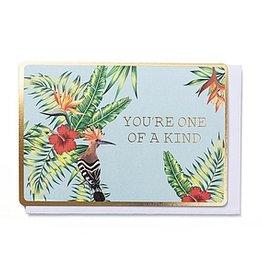 Enfant Terrible Enfant Terrible card + enveloppe 'you're one of a kind'