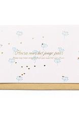 Enfant Terrible Enfant Terrible card + enveloppe 'hoera voor het jonge paar'