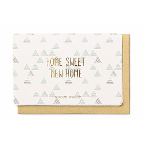 Enfant Terrible Enfant Terrible card + enveloppe 'home sweet new home'