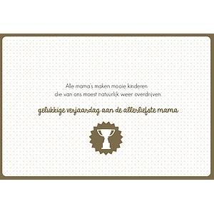 Enfant Terrible Enfant Terrible card + enveloppe 'alle mama's make, mooie kinderen'