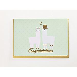 Enfant Terrible Enfant Terrible card + enveloppe 'congratulations'