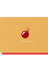 Enfant Terrible Enfant Terrible card + enveloppe 'you're the bomb'