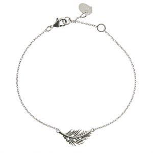 Timi Timi bracelet metal silver - feather
