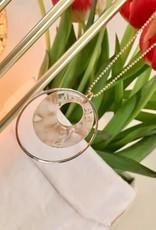 B-Jewels B-Jewels necklace gold 049-NG beige