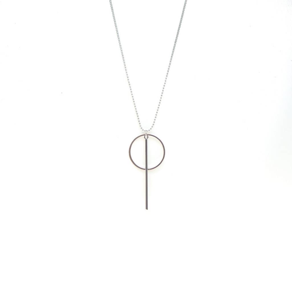 B-Jewels B-Jewels necklace silver 04NS