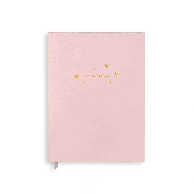 Katie Loxton Katie Loxton notebook be-you-tiful pale pink 23.5x17.5 cm