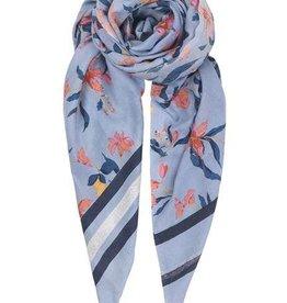 Becksondergaard Beck Sondergaard Tatenda scarf - dusty blue