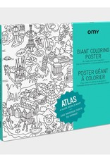 OMY Omy coloring poster 100 x 70 Atlas