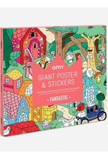 OMY OMY poster 70 x 100 cm  + 150 stickers Fantastic
