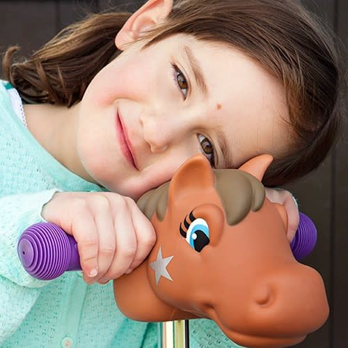 Scootaheadz Scootaheadz Brown pony / cheeky Charly