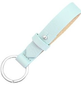 With love With Love keychain leather - aruba blue