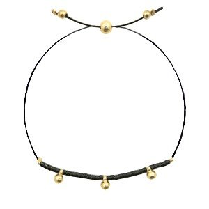 With love With love bracelet black - gold