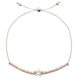 With love With love bracelet silver lavender 'star'