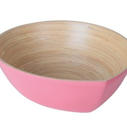 Orval Créations Salad bowl leaf bamboo