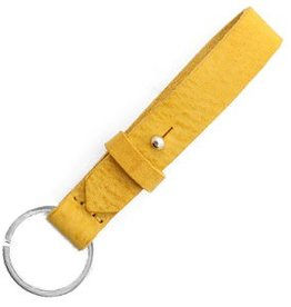 With love With Love keychain leather - mineral yellow