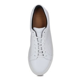 Spartacus base shoe - white leather