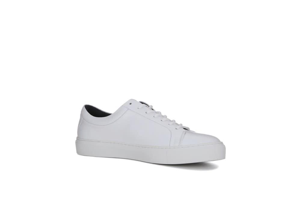 Spartacus base shoe - white leather