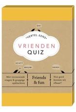 Lannoo Uitgeverij Vertel eens, vrienden quiz
