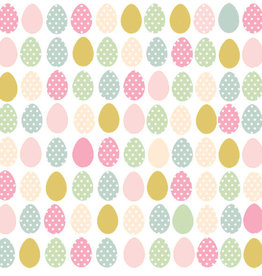 Atelier Designer Collection 20 napkins easter eggs 33x33 cm