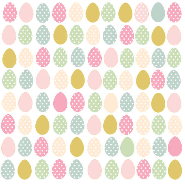 Atelier Designer Collection 20 napkins easter eggs 33x33 cm