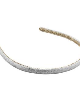 Juleeze Hair band silver glitters