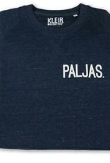 Kleir Kleir navy melange sweater - PALJAS