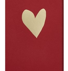 Papette Papette greeting card love 'lipstick red'