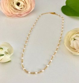 ONE80 ONE80 short necklace pearls