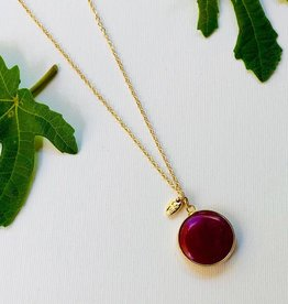 ONE80 One80 necklace red agate
