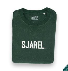 Kleir Kleir green melange sweater - SJAREL