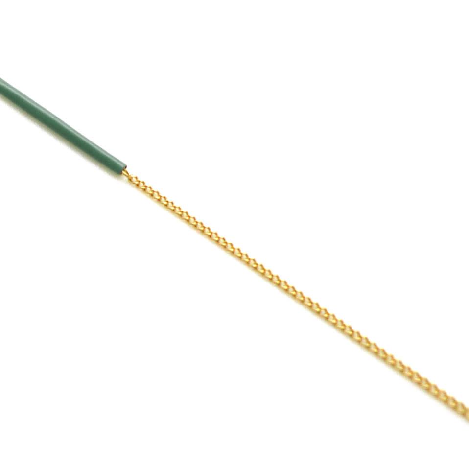 Nadja Carlotti Silver earrings Sparkle - Green